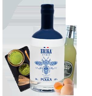 Cocktail Vodka Polka Combinaison-Kombucha