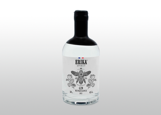 Bouteille de Gin renaissance 50 cl
